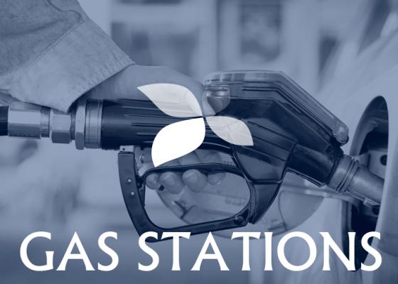 Sistemas de extinción de incendios en gasolineras